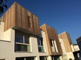rivestimento listelli legno rivestimenti di facciata a