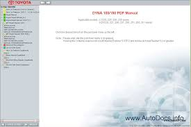 toyota dyna 100 150 service manual repair manual order u0026 download