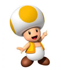 yellow toad mario wiki neoseeker