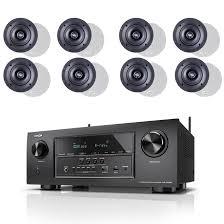 paradigm home theater denon avr s720w 7 2 4k b stock receiver w paradigm cs 50r v3