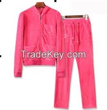 wholesale fitness clothing custom velour tracksuits women cheap