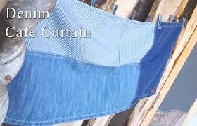 Denim Curtain Ffactory Rakuten Global Market Aliyan Cafe Curtains