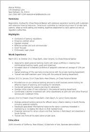 cover letter personal banker fitness and personal trainer advice