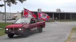 Truck With Rebel Flag Confederate Flag Rally The First 24 In Crossville Tn On 8 15 15