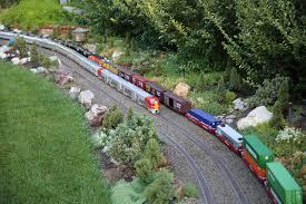 g scale garden railway layouts morning glow garden railroad garden railways