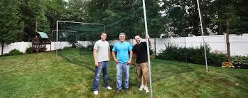 batting cages baseball backyard dealer installer long