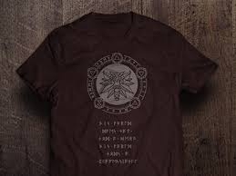fan made t shirts witcher 3 wild hunt fan made t shirt by vitor hugo japa dribbble