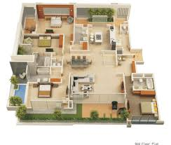 2 Bedroom Modern House Plans by Amazing Architecture 2 Bedroom House Plans Designs 3d Contemporary