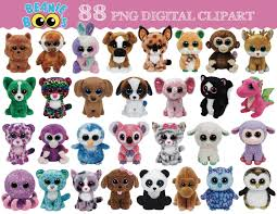 ty beanie boo 88 digital clipart images transparent