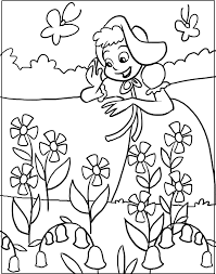 spring coloring pictures toddlers spring coloring pages