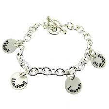sterling silver personalized jewelry jc jewelry design sted bracelet name charm personalized