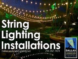 Landscape Lighting Frisco Tx 77 Best String Lights Installation By Dallas Landscape