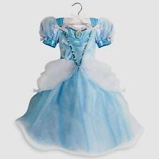 Light Halloween Costumes Disney Size 5 6 Princess Cinderella Light Blue Costume Dress