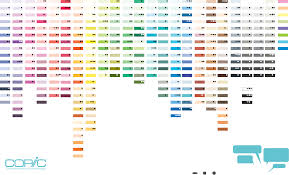 download 358 color chart for free tidyform