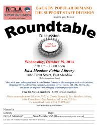 round table sierra college support staff division roundtable discussion october 29th 2014