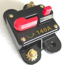 12 volt car audio 140 circuit breaker with reset up to 1400