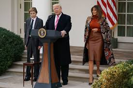 president and melania hold national thanksgiving