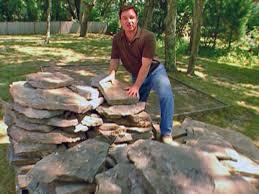 Building Stone Patio by Building A Flagstone Patio Rock N Dirt Yard