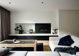 Livingroom Yoga Minimalist Home In Australia With Yoga Studio Modern Home Decor