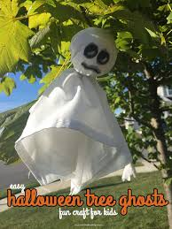 Halloween Decorations Tree Ghosts by Halloween Tree Ghosts Fun Craft For Kids