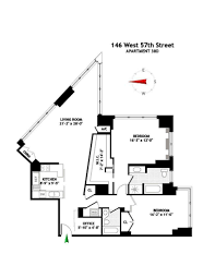 The Metropolitan Condo Floor Plan by Streeteasy Metropolitan Tower Condominium At 146 West 57th Street