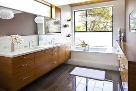 Floating Bathroom Vanity Modern Bathroom Jeneration Interiors - Floor to ceiling bathroom vanity