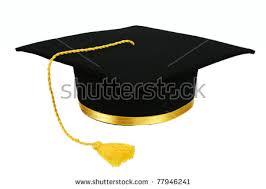 gold tassel graduation black graduation cap gold tassel isolated stock photo 77946241