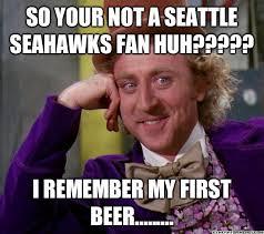Seahawks Fan Meme - dating a seahawks fan meme