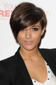 one sided bob hairstyle galleries frankie sandford s asymmetric pixie is edgy fabulous