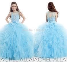 light sky blue flower dresses