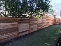 best backyard horizontal wood fence ideas about horizontal fence