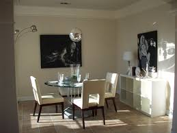 gold color completed modern dining room wall decor ideas sweet