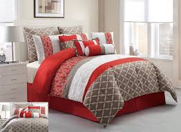 What Is A Bed Set This Luxurious Comforter Set Features Blocks Of Floral Embroidery
