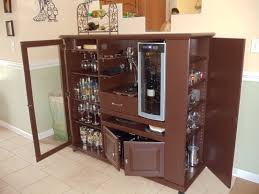 Bar Cabinet With Wine Cooler By Hanna Marie Coyle Wine Cabinet Bar Project