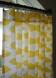 Curtains For The Home Yellow And White Ikat Curtains For The Home Pinterest Rod