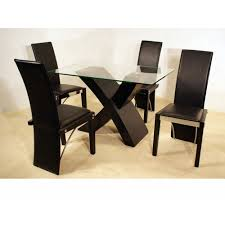 table modern square glass dining table rustic compact modern