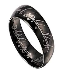 black metal rings images 8mm lord of the rings black tungsten band with elvish script jpg