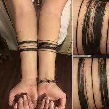 solid line armband meaning best tatto 2017