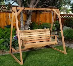 porch swings by all things cedar adirondack swings