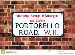 borough market sign portobello road sign stock photo image 32387020