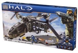 spartan bloks halo mega bloks u2013 96940 unsc falcon with landing pad