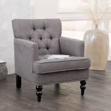 grey living room chairs shop for christopher knight home malone charcoal grey club chair
