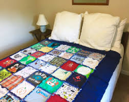 keepsake blankets baby clothes quilt etsy