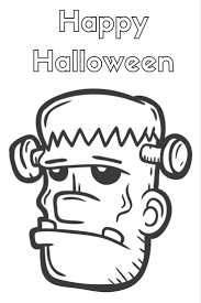 Halloween Frankenstein Coloring Pages Halloween Coloring Pages Free Printables U2022 Fyi By Tina