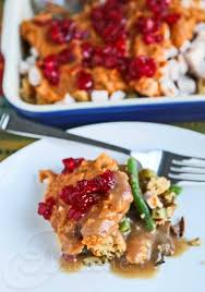 layered thanksgiving leftovers casserole recipe 30 healthy