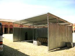 capannone in pvc usato tettoie prefabbricate in ferro usate