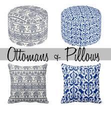 Ottoman Pillow Pouf Ottomans Pretty Throw Pillows