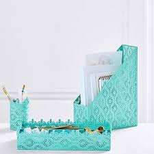 Fashionable Desk Accessories Cool Desk Accessories Pbteen