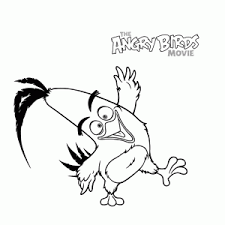 angry birds movie coloring pages kids