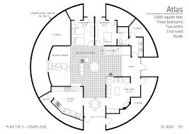gallery floor plan dl 5302 monolithic dome institute
